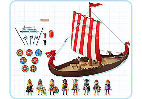 3150-A Vikings/drakkar detail image 2