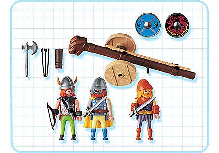 3153-A Wikinger mit Rammbock detail image 2