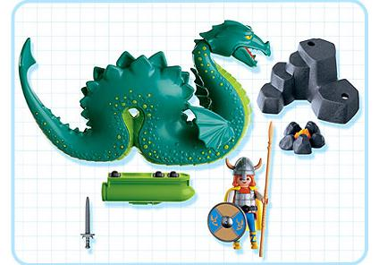 """http://media.playmobil.com/i/playmobil/3155-A_product_box_back/Seeungeheuer """"Nessie"""""""