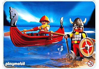 3156-A Vikings/barque detail image 1