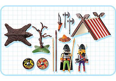 3157-A Vikings/tente detail image 2