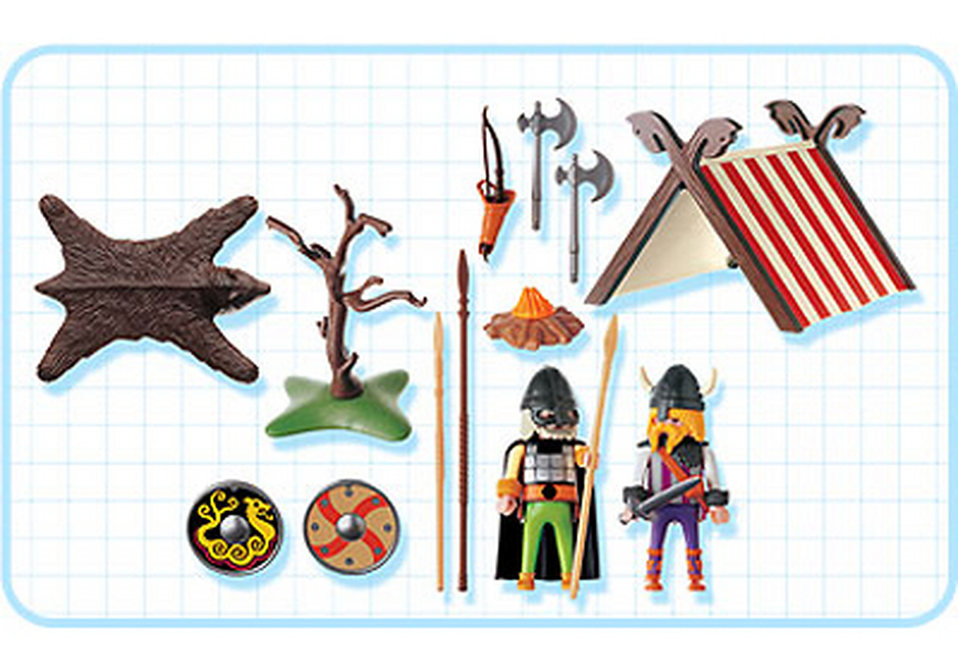 3157-A Vikings/tente zoom image2
