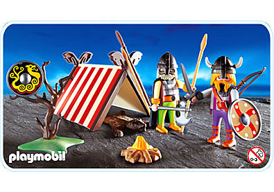 3157-A Vikings/tente detail image 1