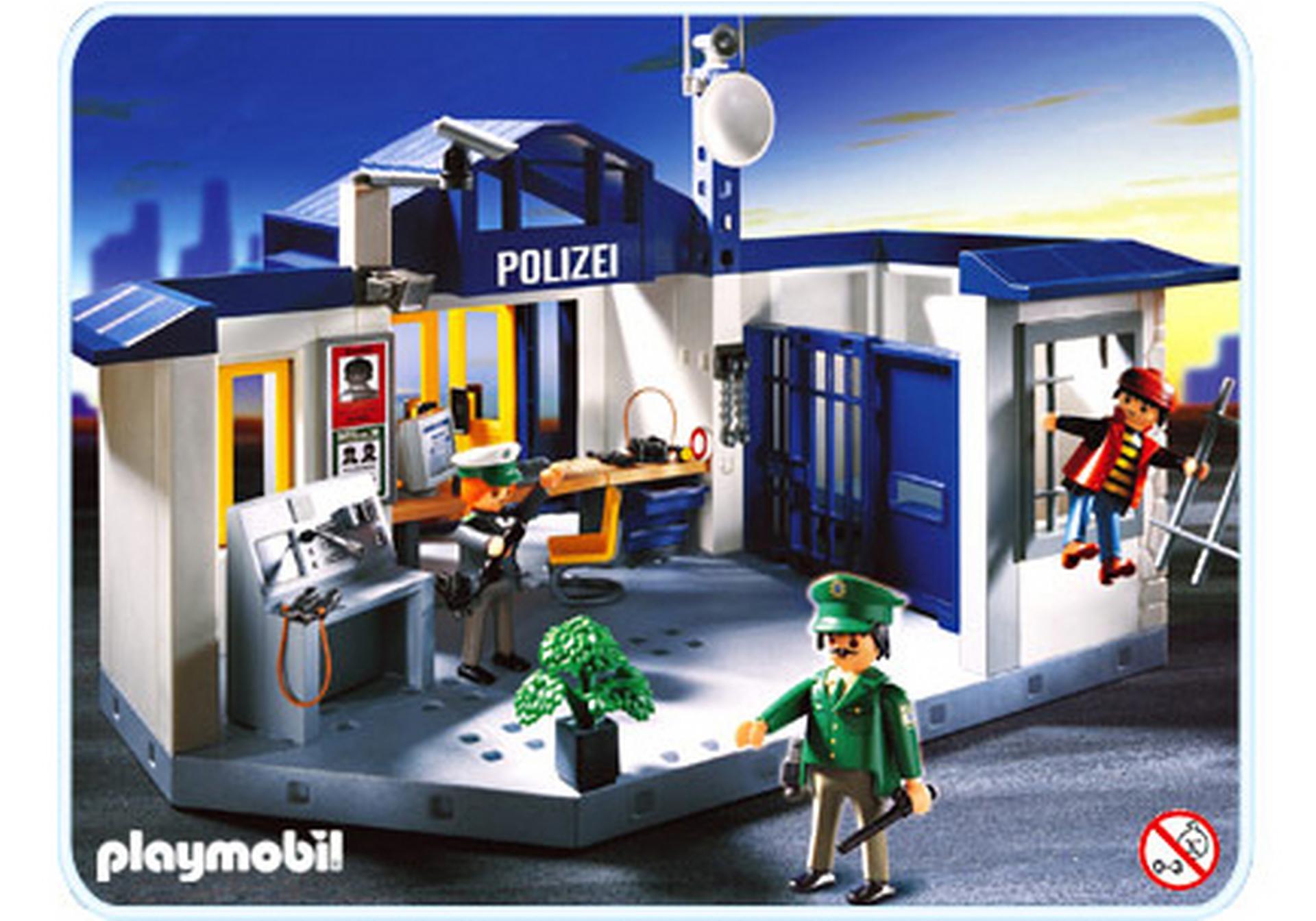 polizeirevier/gefängnis - 3159-a - playmobil