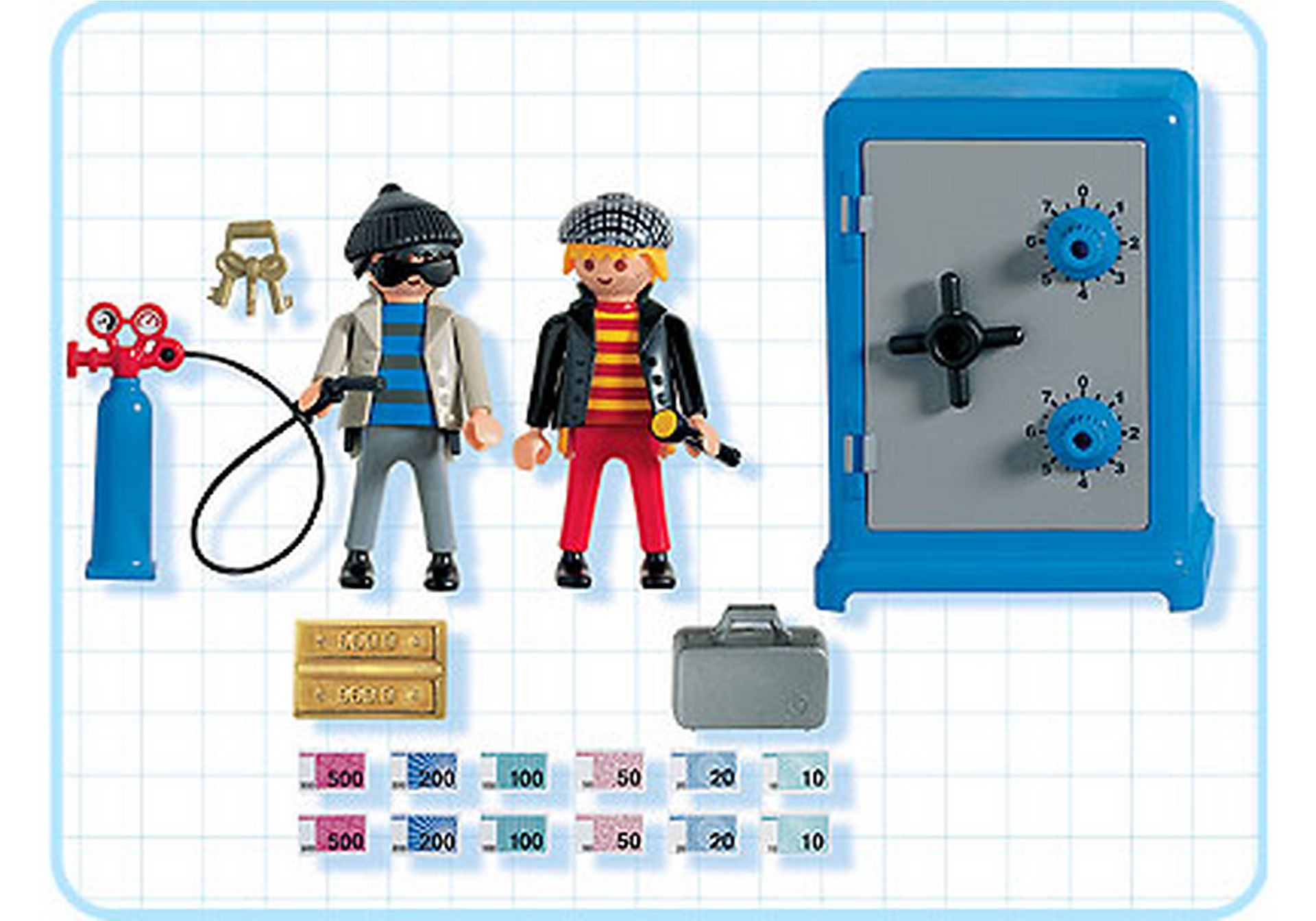 http://media.playmobil.com/i/playmobil/3161-A_product_box_back/Cambrioleurs / coffre-fort