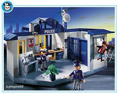 policiers prison 3165 a playmobil france. Black Bedroom Furniture Sets. Home Design Ideas