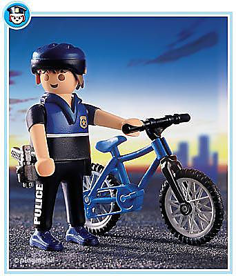 3168-A Patrouilleur à vélo detail image 1