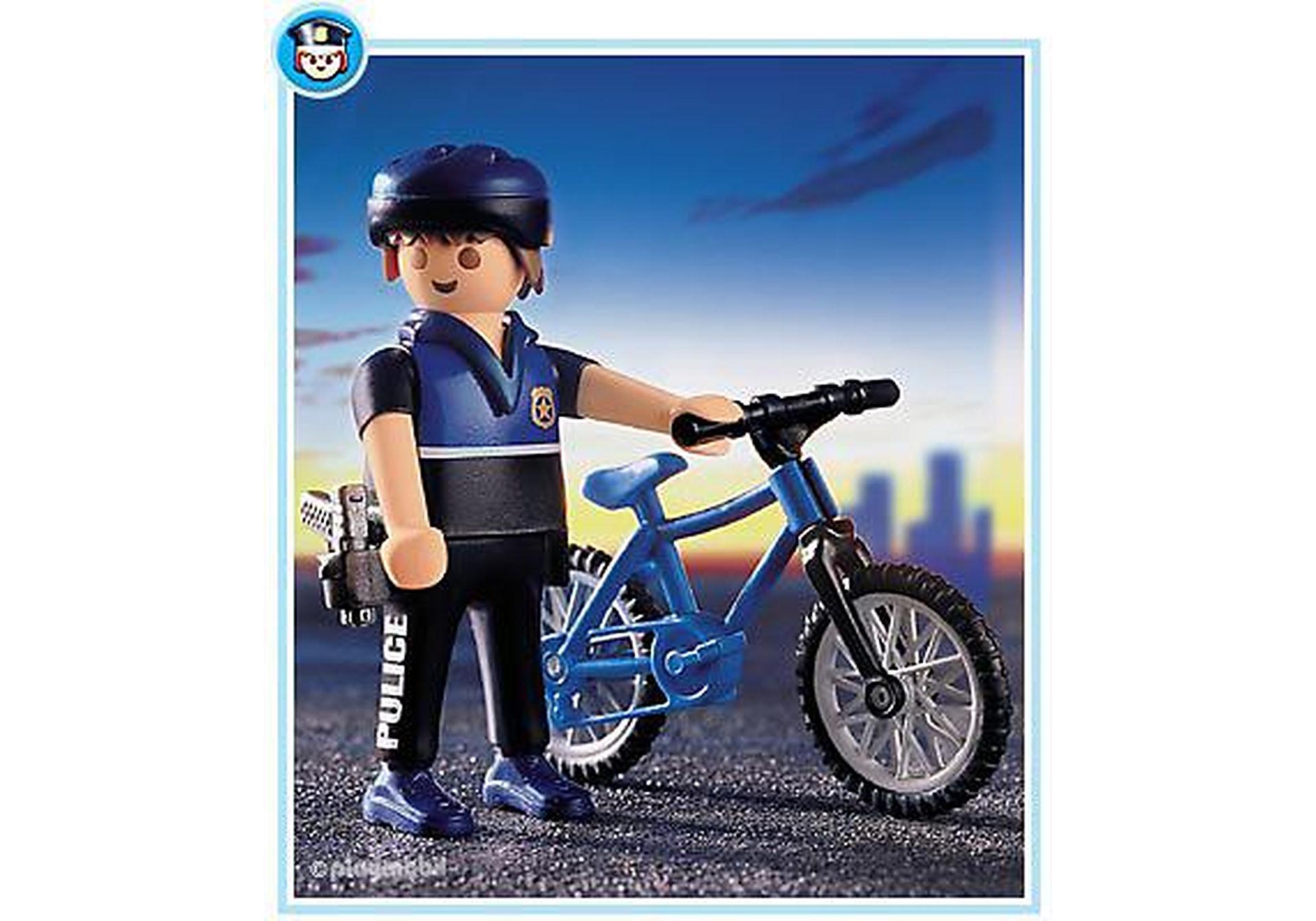 3168-A Patrouilleur à vélo zoom image1