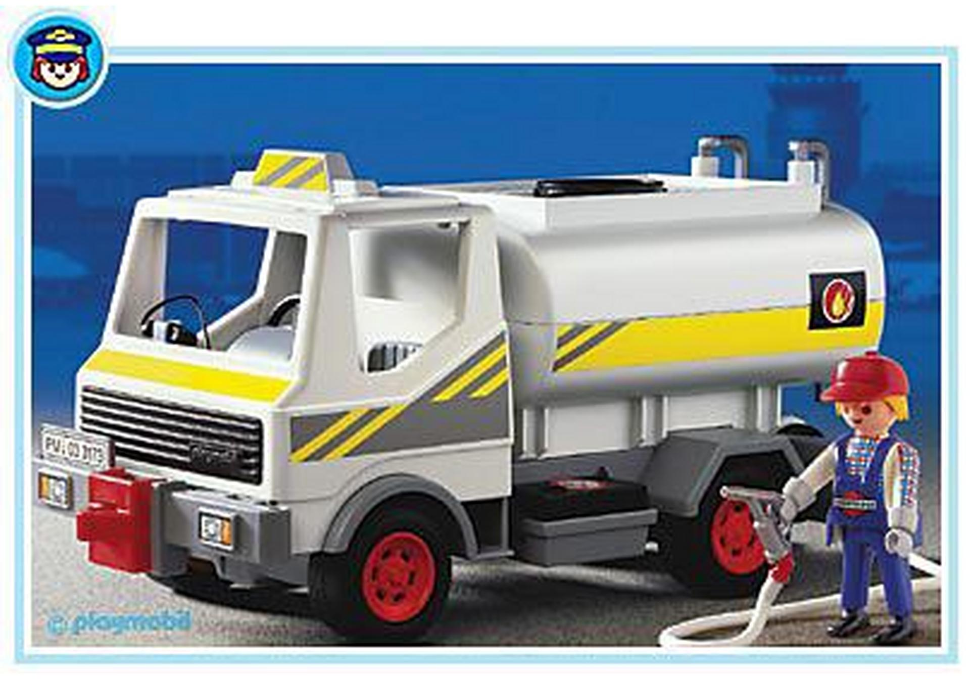 Chauffeur camion citerne 3173 a playmobil france - Playmobil camion ...