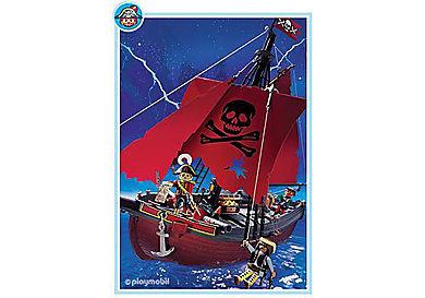 3174-A Rotes Seeräuberschiff