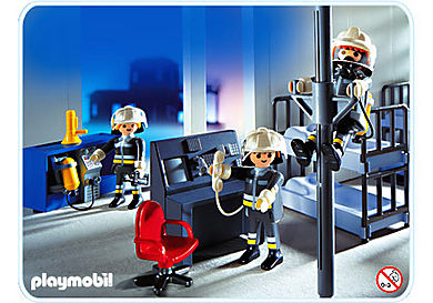 3176-A Pompiers/salle d`intervention
