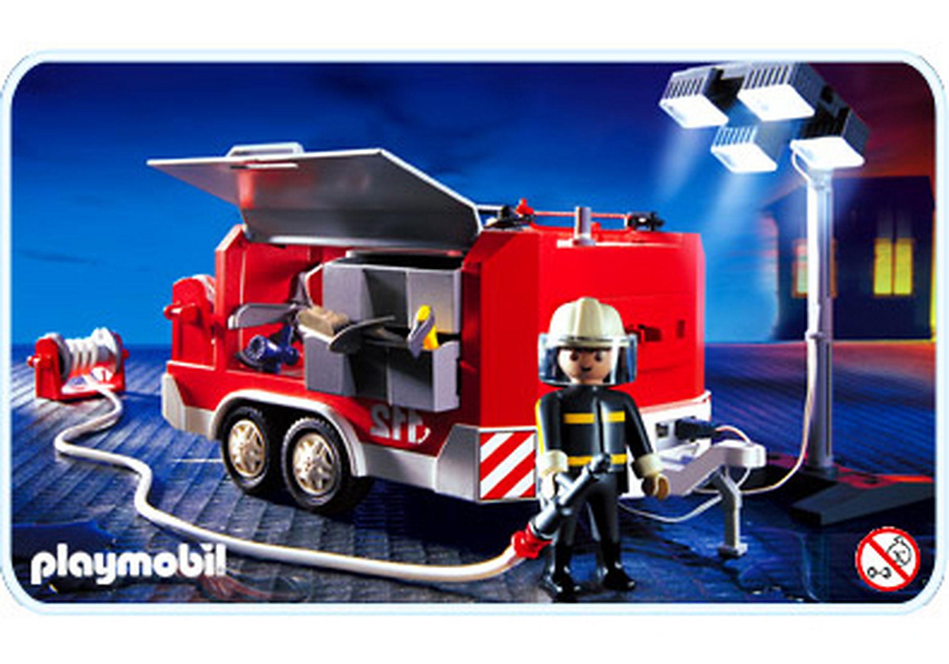 3178-A Feuerwehranhänger mit Lichtgiraffe zoom image1