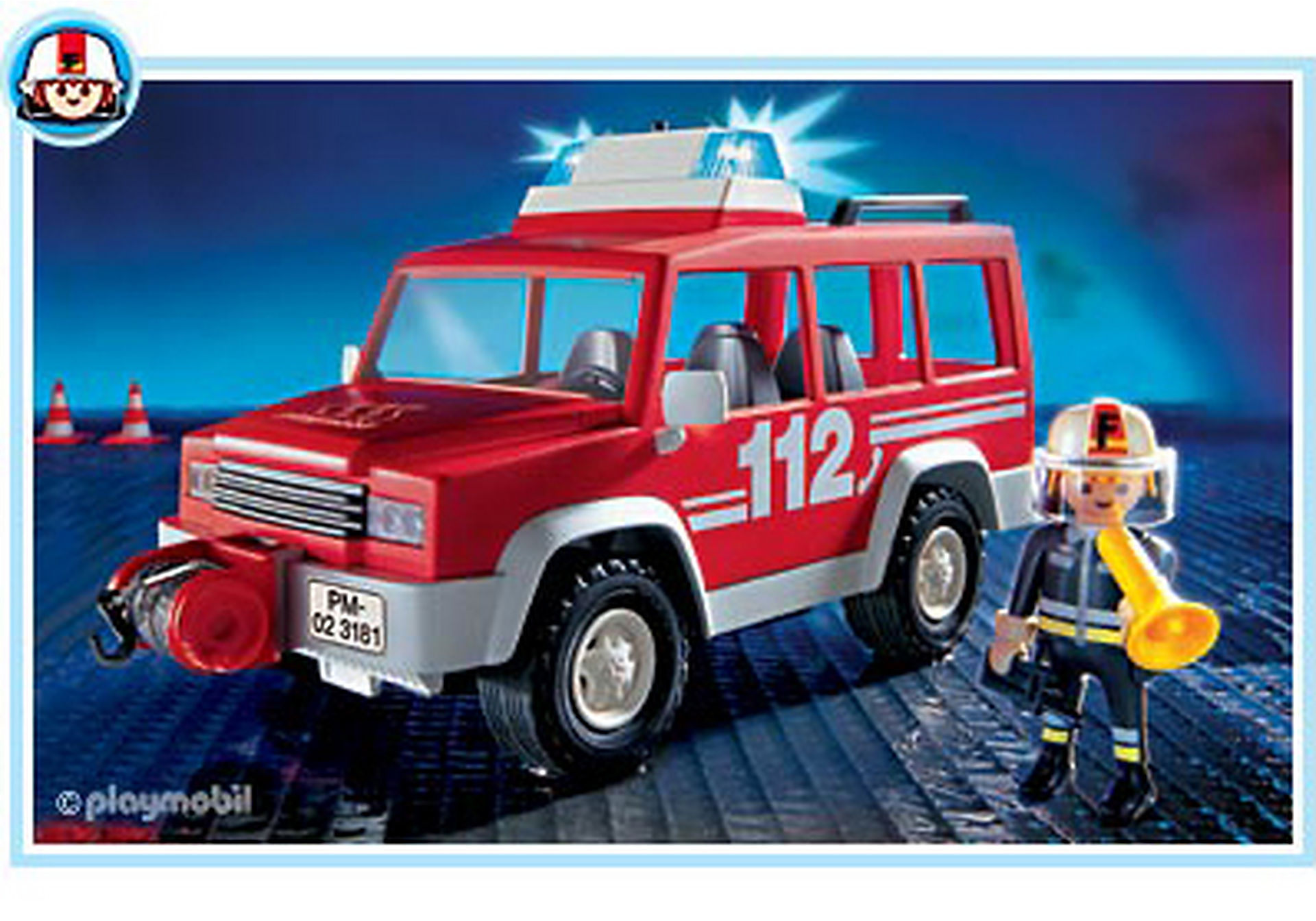 3181-A Feuerwehrvorausfahrzeug zoom image1