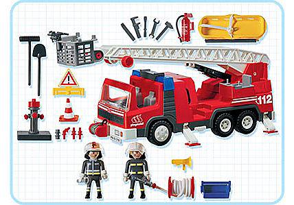 3182-A Feuerwehrleiterfahrzeug detail image 2