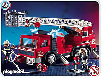 3182-A Pompiers/camion grande échelle detail image 1