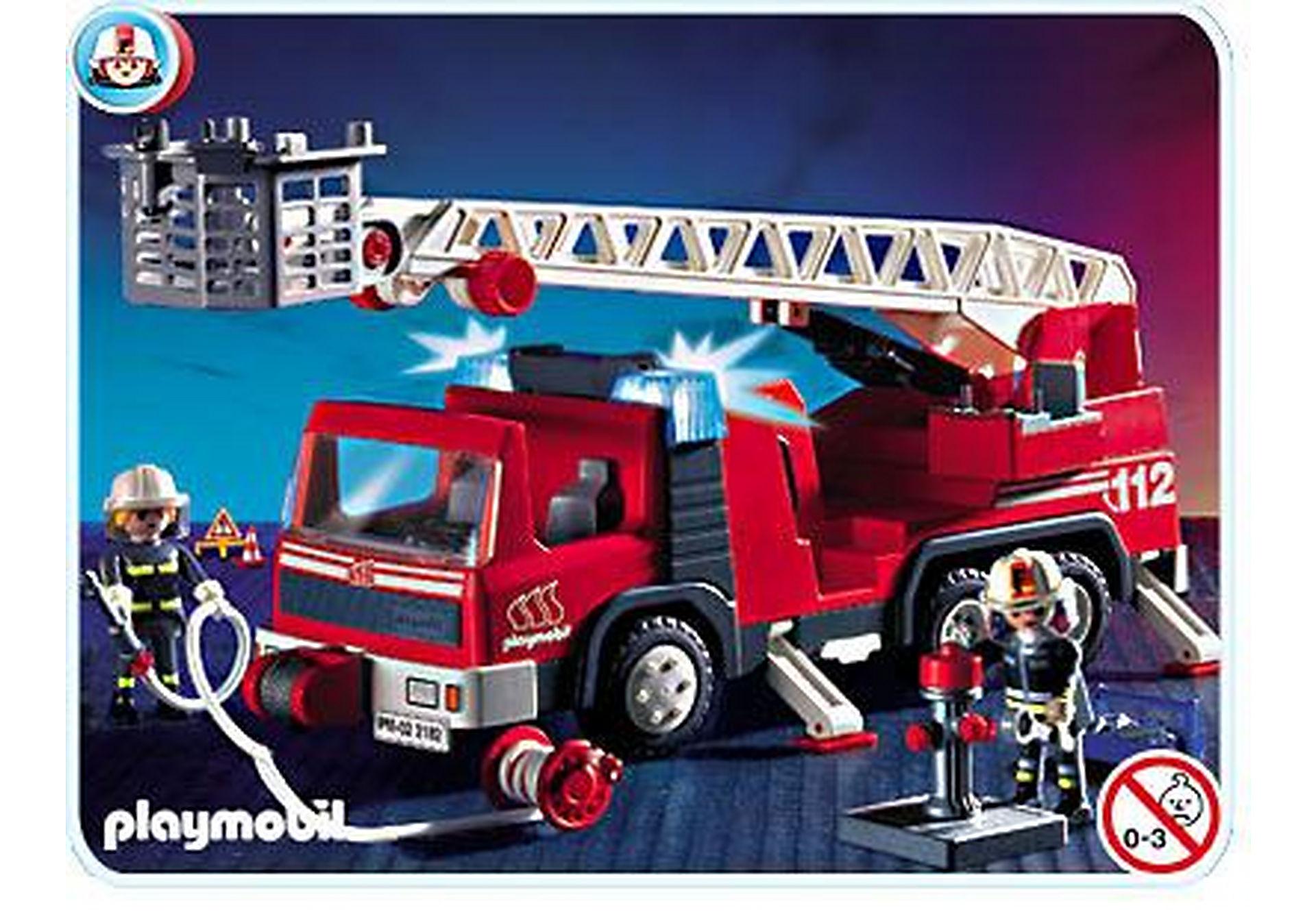 3182-A Pompiers/camion grande échelle zoom image1