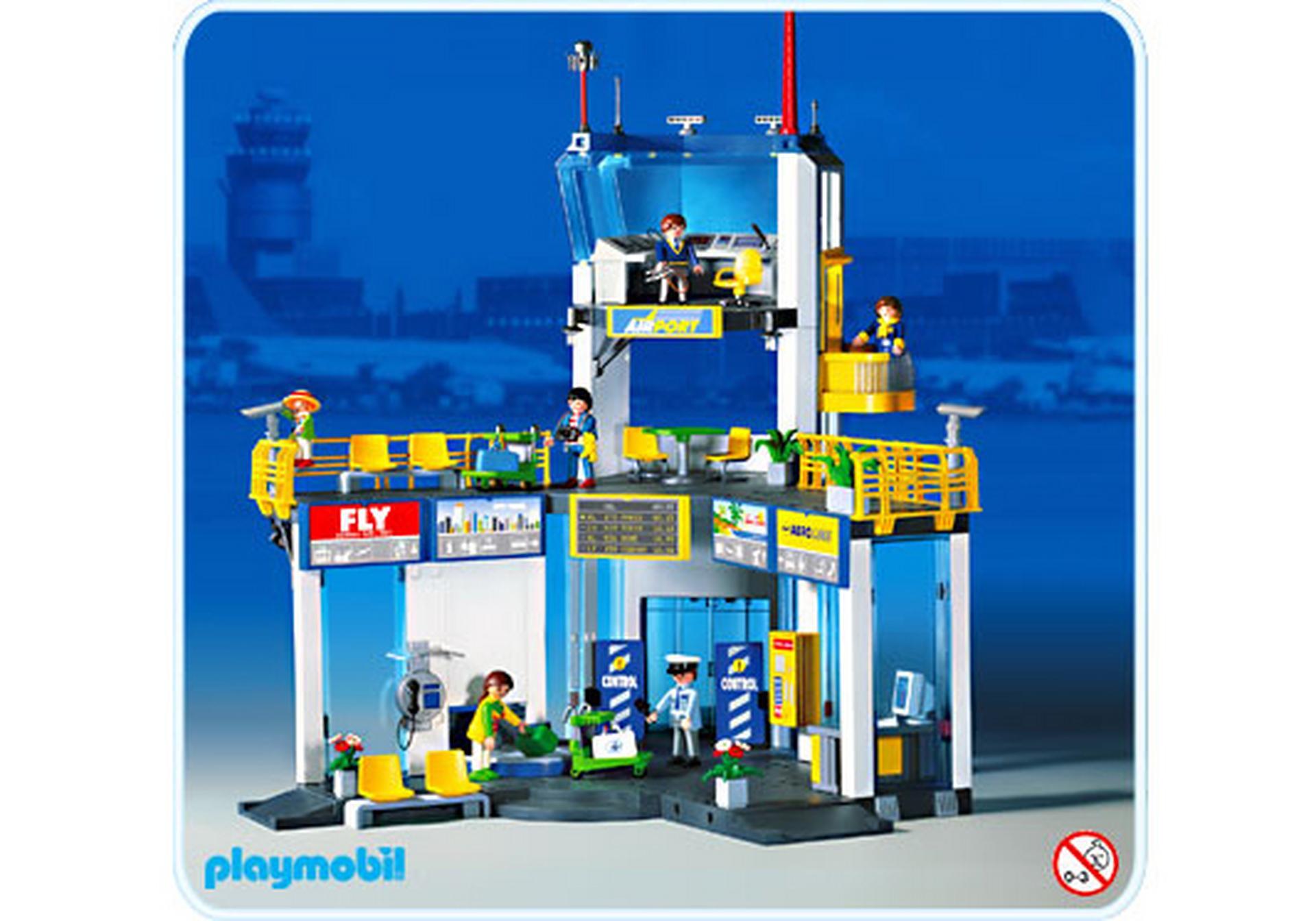Flughafen tower 3186 a playmobil schweiz for Jugendzimmer playmobil