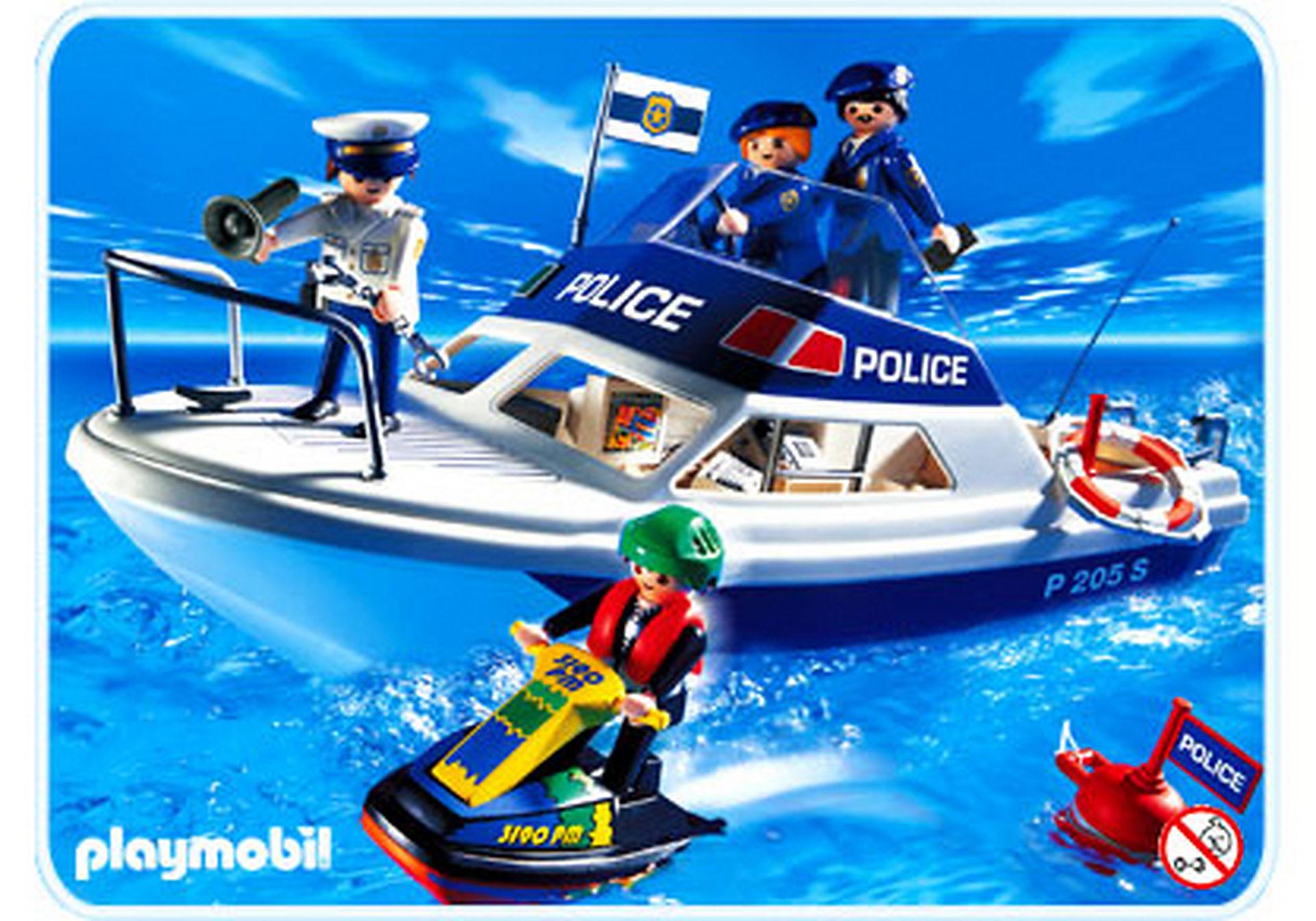 3190-A Polizeiboot mit Jet Ski zoom image1