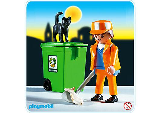 3196-A Balayeur/poubelle detail image 1