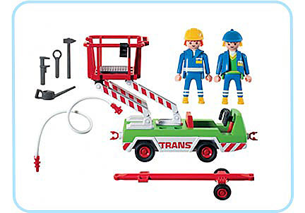 3197-A Servicefahrzeug detail image 2