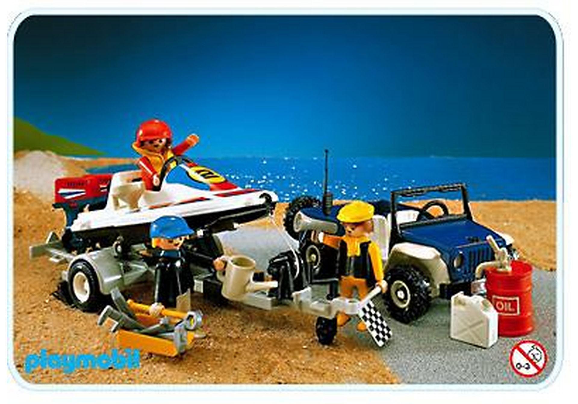3198-A Speedboat u. Jeep zoom image1