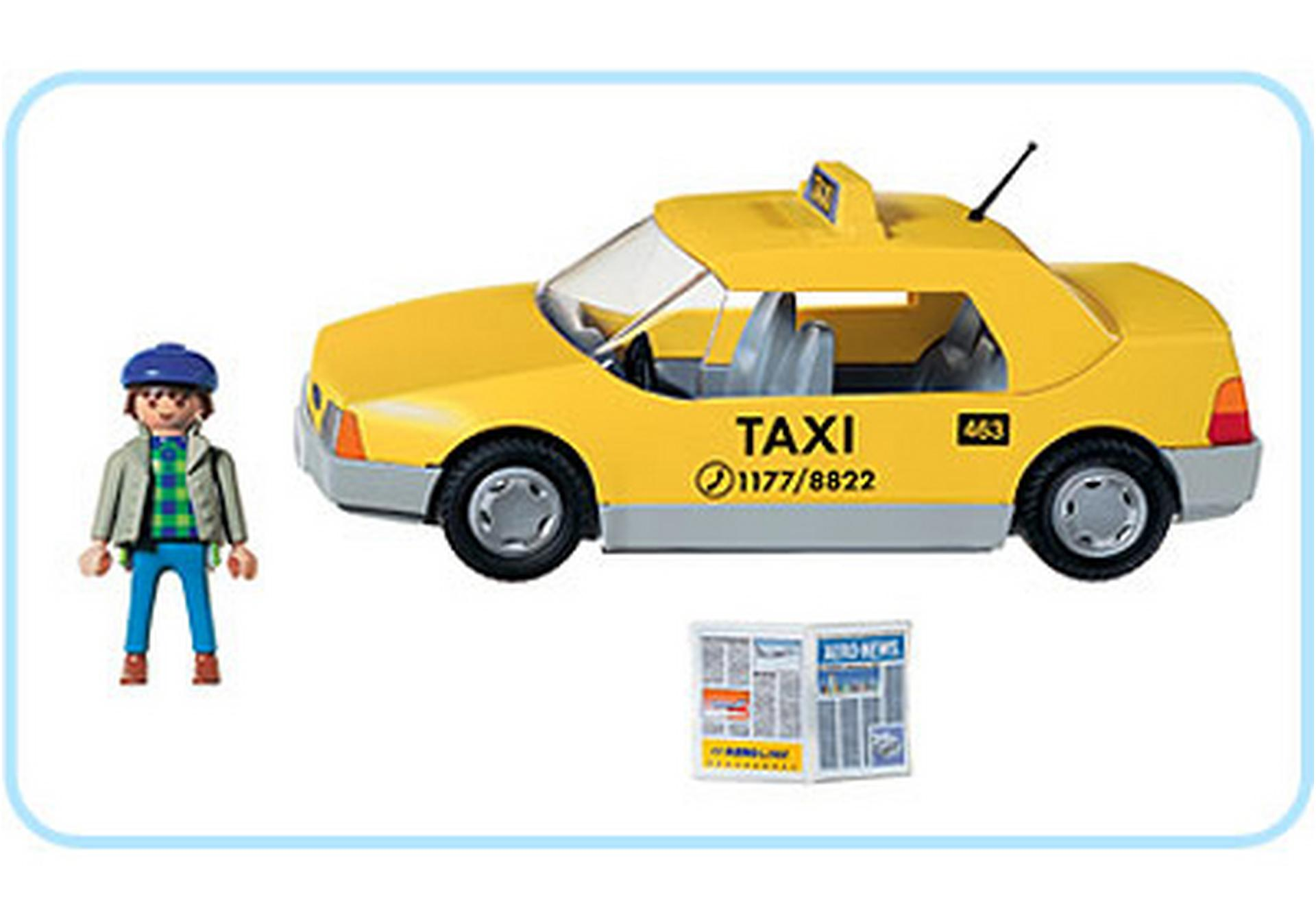 Taxi 3199 a playmobil deutschland for Jugendzimmer playmobil
