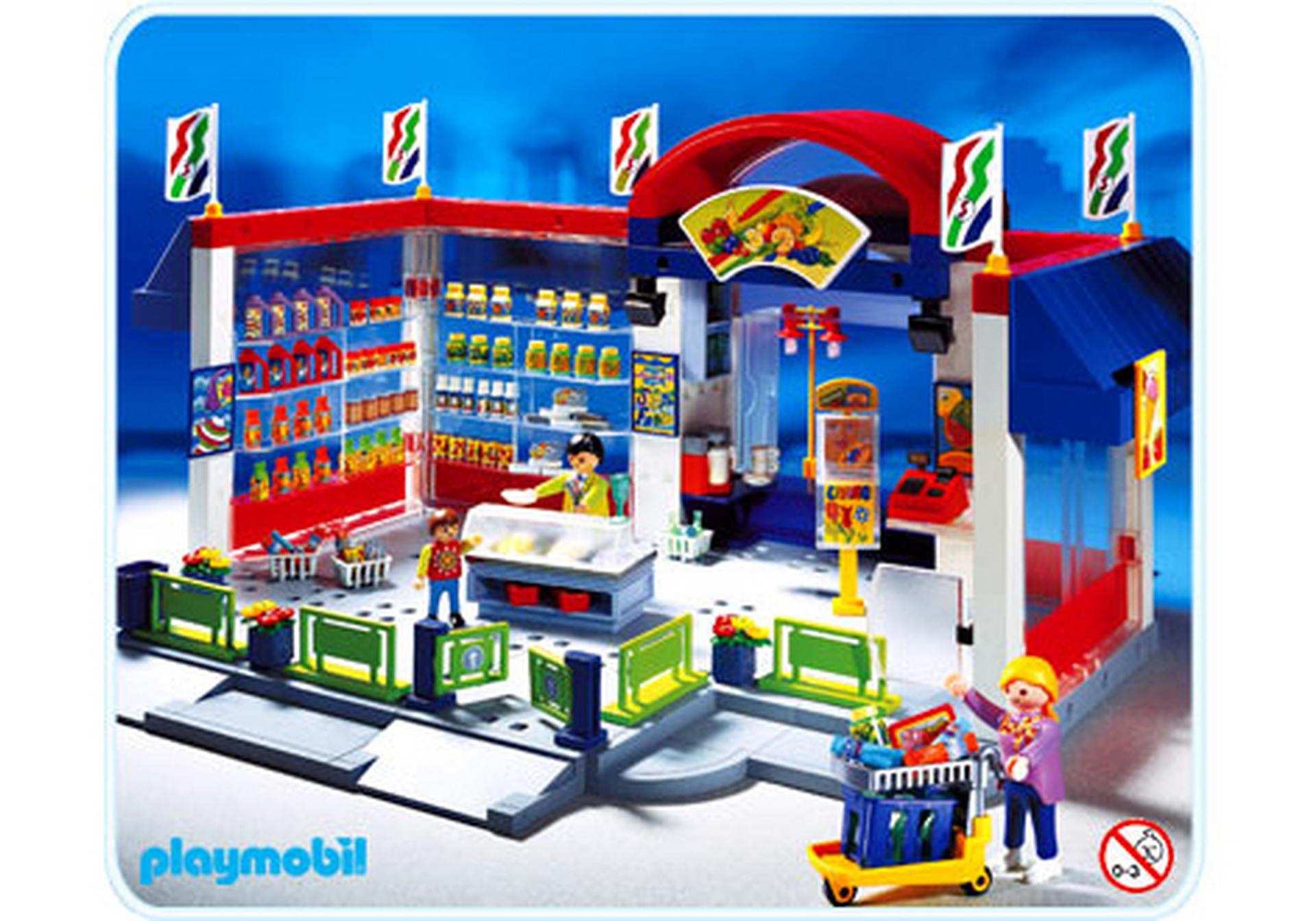 Supermarkt 3200 a playmobil schweiz for Jugendzimmer playmobil