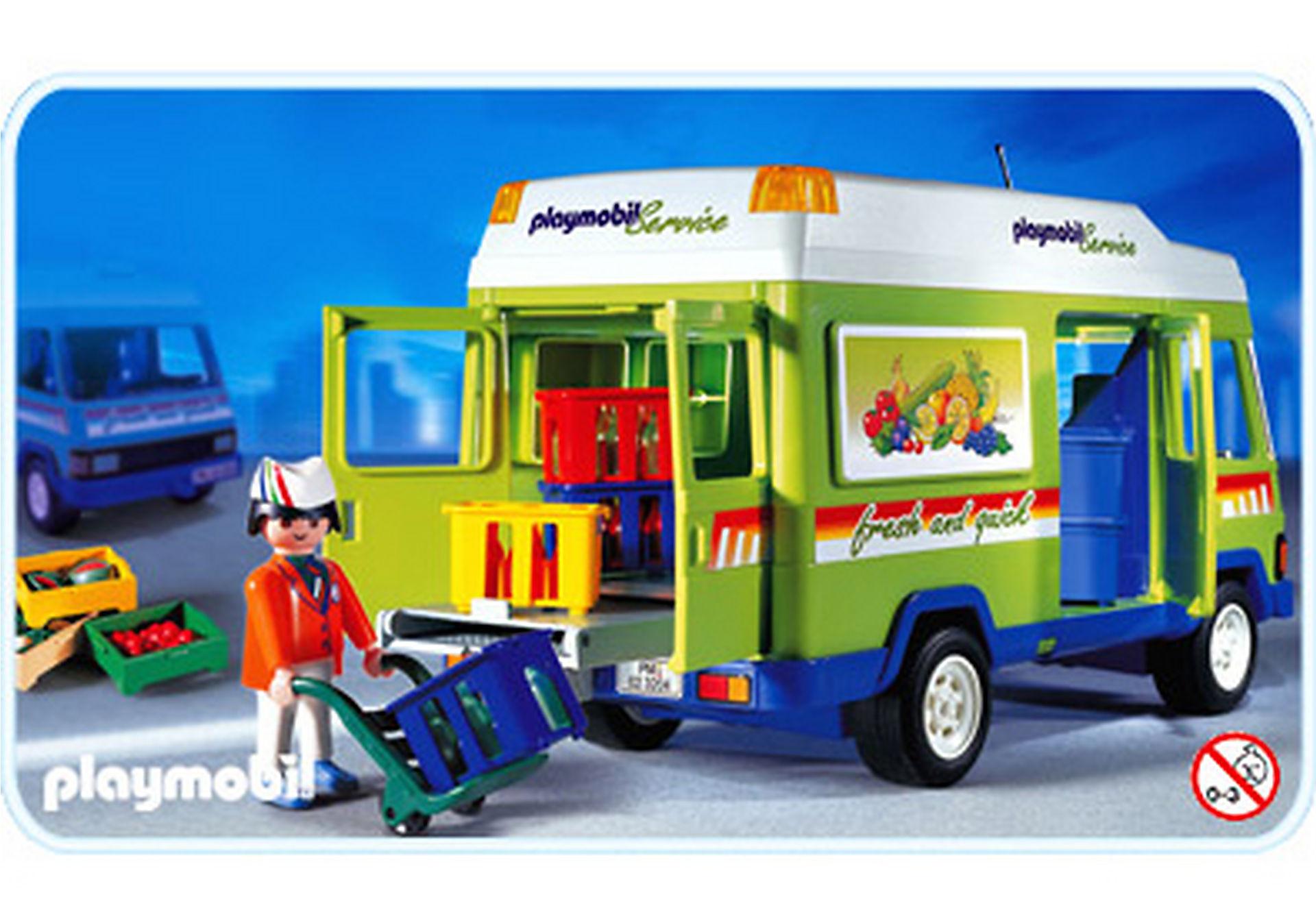 3204-C Livreur / camionnette zoom image1