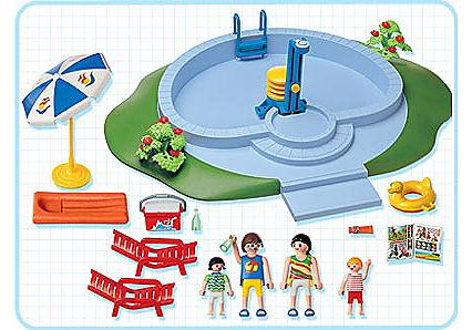 3205-B Famille / piscine detail image 2