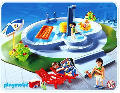 famille piscine 3205 b playmobil france. Black Bedroom Furniture Sets. Home Design Ideas