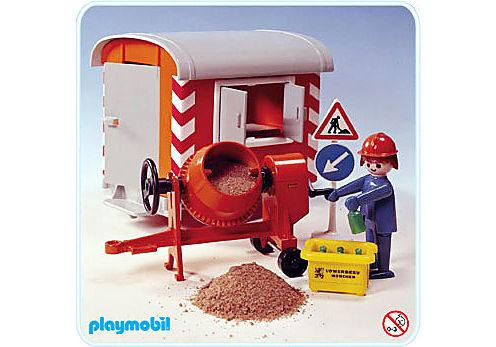 3207-A Baustellwagen mit Mörtelmischer detail image 1
