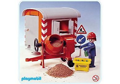 3207-A Baustellwagen mit Mörtelmischer