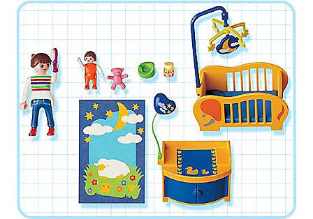 3207-B Maman / chambre de bébé detail image 2