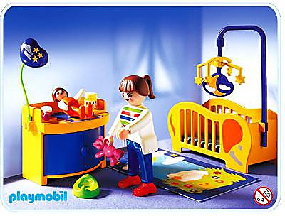 3207-B Maman / chambre de bébé detail image 1
