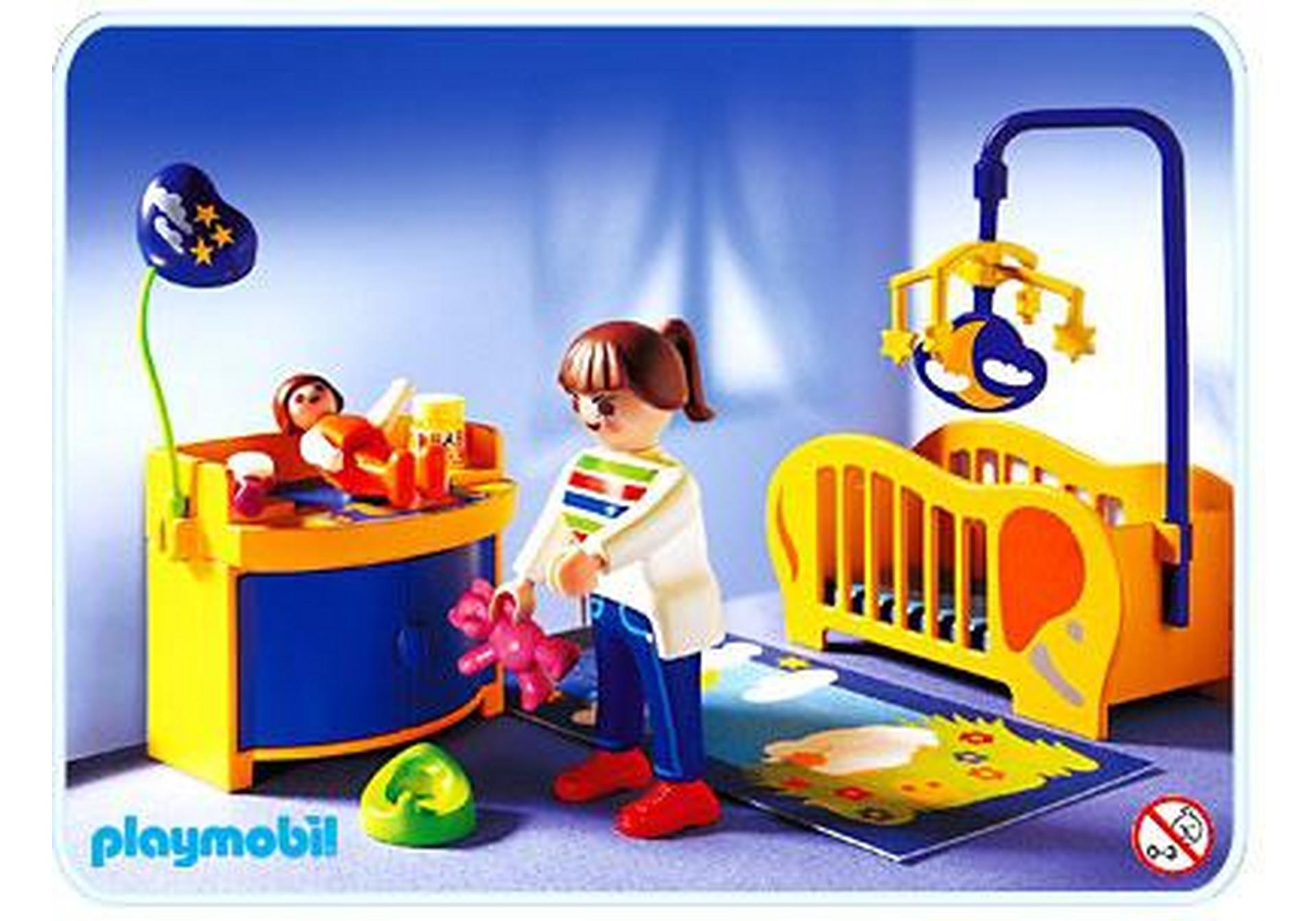 Maman chambre de b b 3207 b playmobil france for Kinderzimmer playmobil