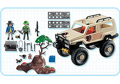 3219-C Aventuriers/ vehicule 4x4 detail image 2