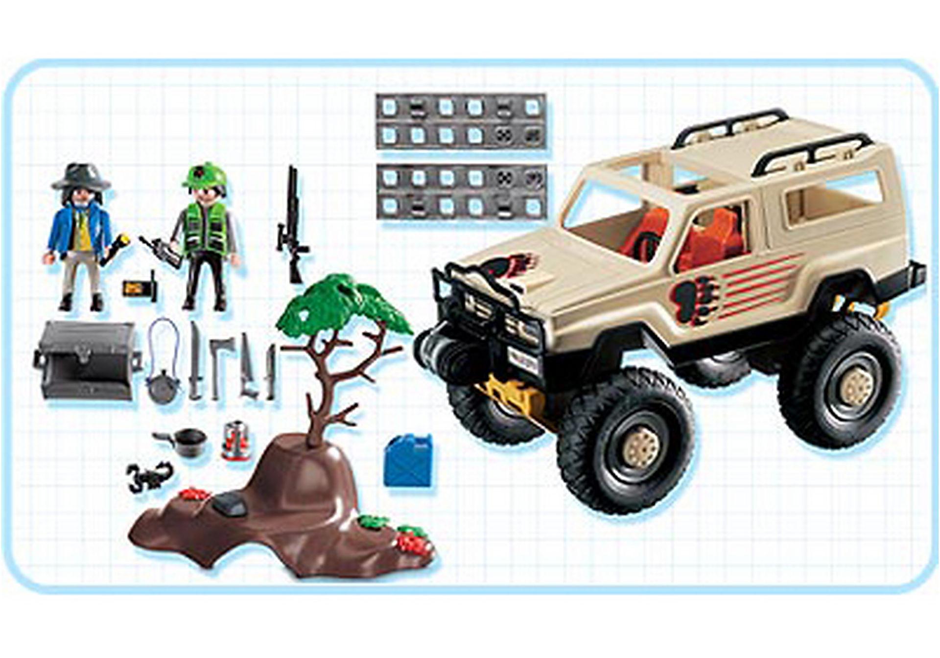 3219-C Aventuriers/ vehicule 4x4 zoom image2