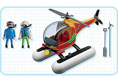 3220-A Adventuriers / hélicoptère de surveillance detail image 2