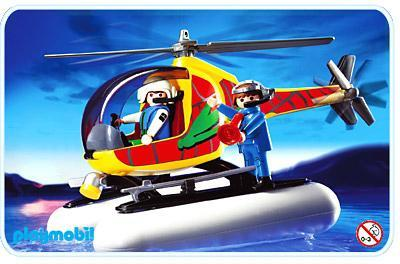 http://media.playmobil.com/i/playmobil/3220-A_product_detail/Adventuriers / hélicoptère de surveillance