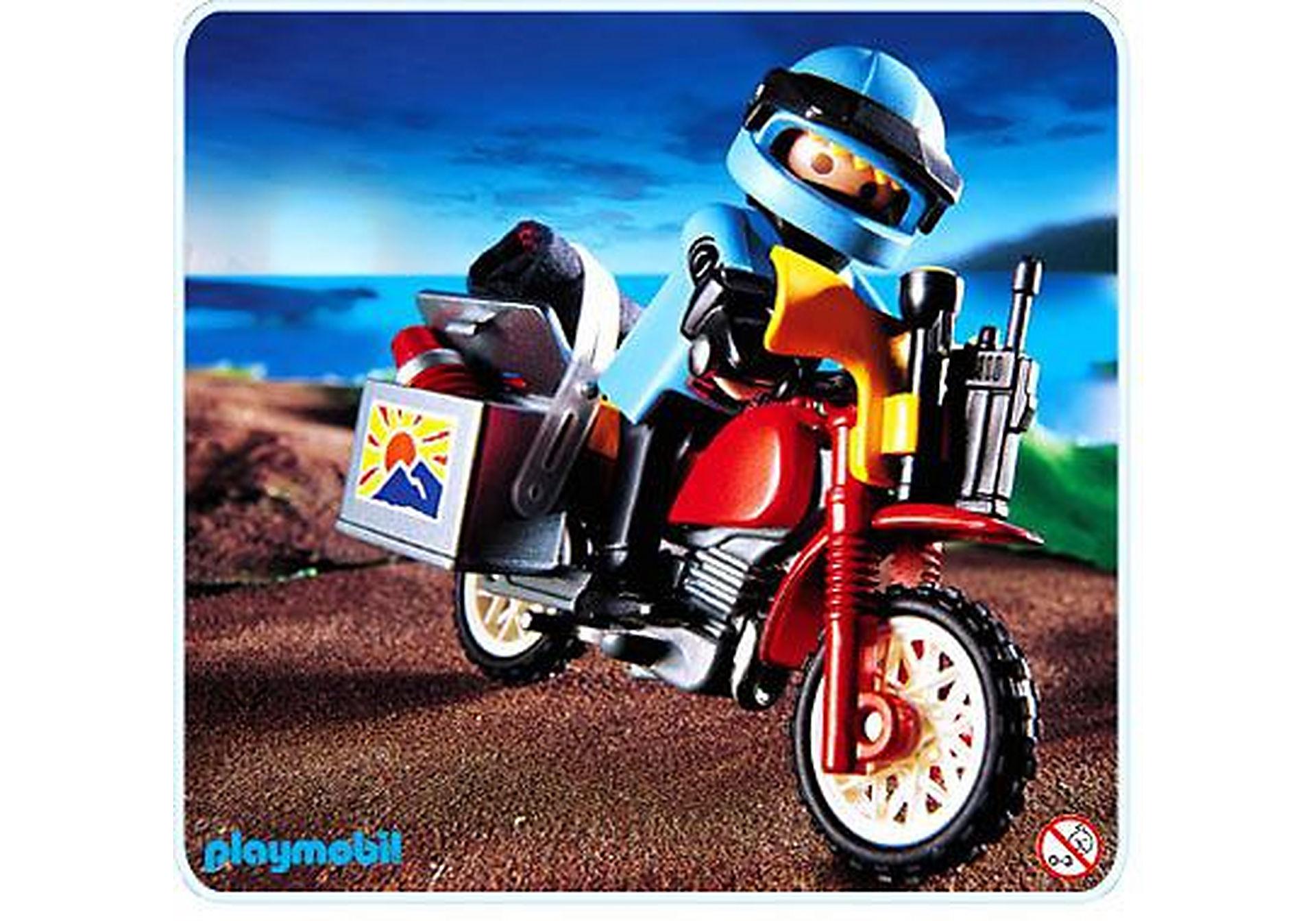 3222-A Pilote / moto raid zoom image1