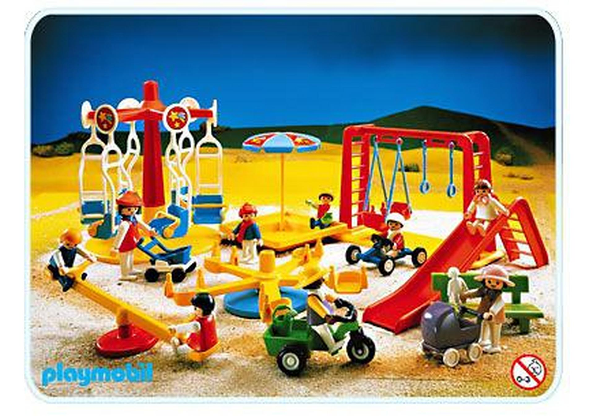 Spielplatz geschenkset 3223 a playmobil sterreich for Jugendzimmer playmobil