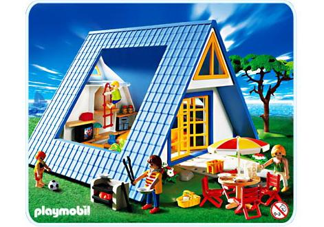 famille maison de vacances 3230 a playmobil france. Black Bedroom Furniture Sets. Home Design Ideas