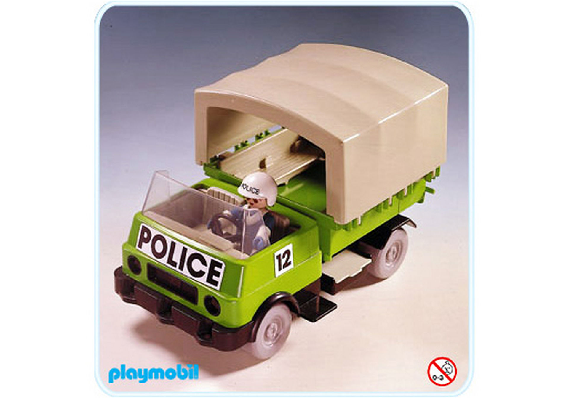 3233-A Polizei - Auto zoom image1
