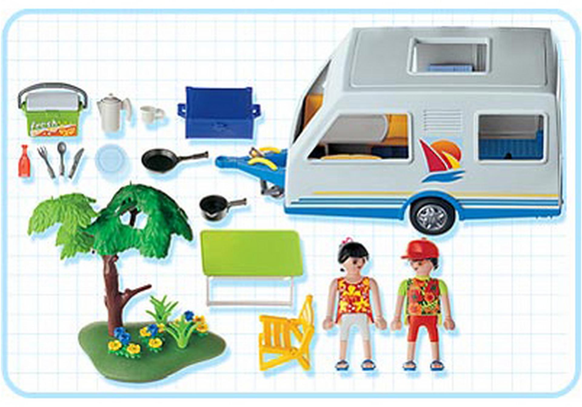 parents caravane 3236 c playmobil france. Black Bedroom Furniture Sets. Home Design Ideas