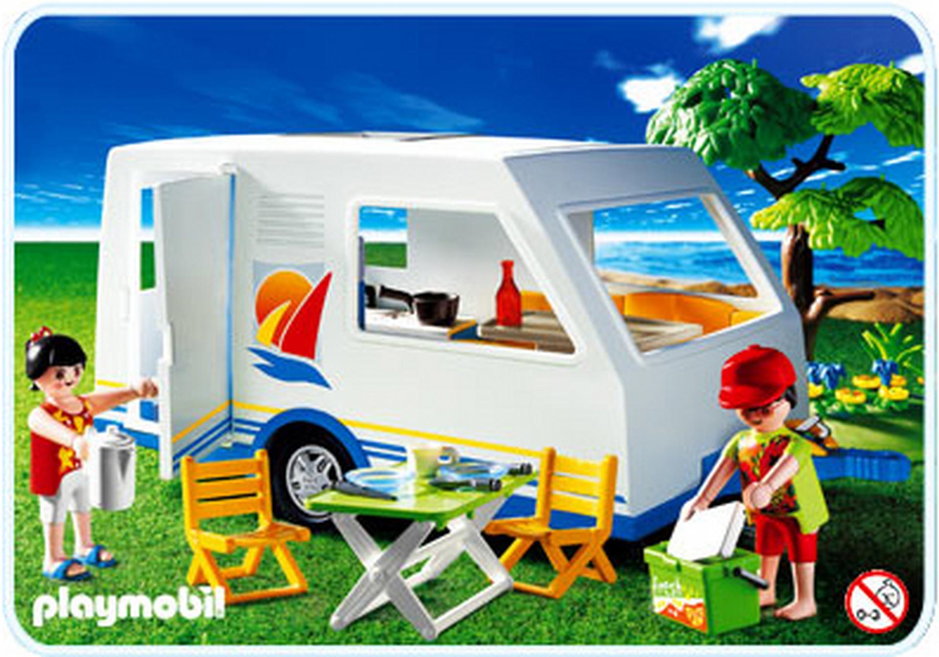 Wohnwagen 3236 c playmobil deutschland for Jugendzimmer playmobil