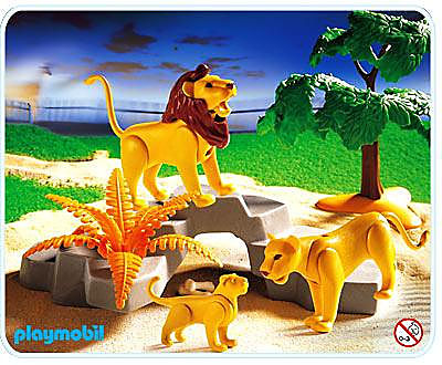 3239-B Löwenfamilie detail image 1