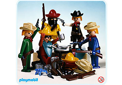 3241-A Set Cow-boys et Mexicains