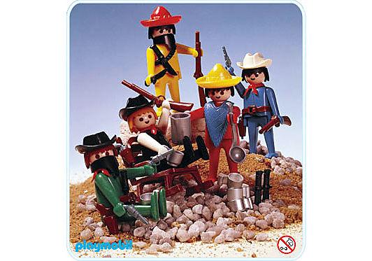 3241-B Cowboy/Mexikaner-Set detail image 1