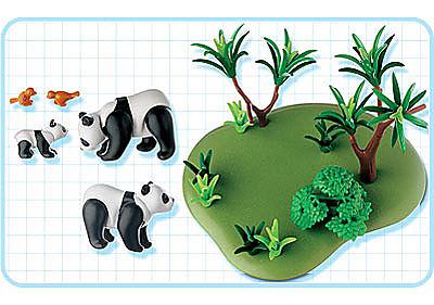 3241-C Pandabären detail image 2