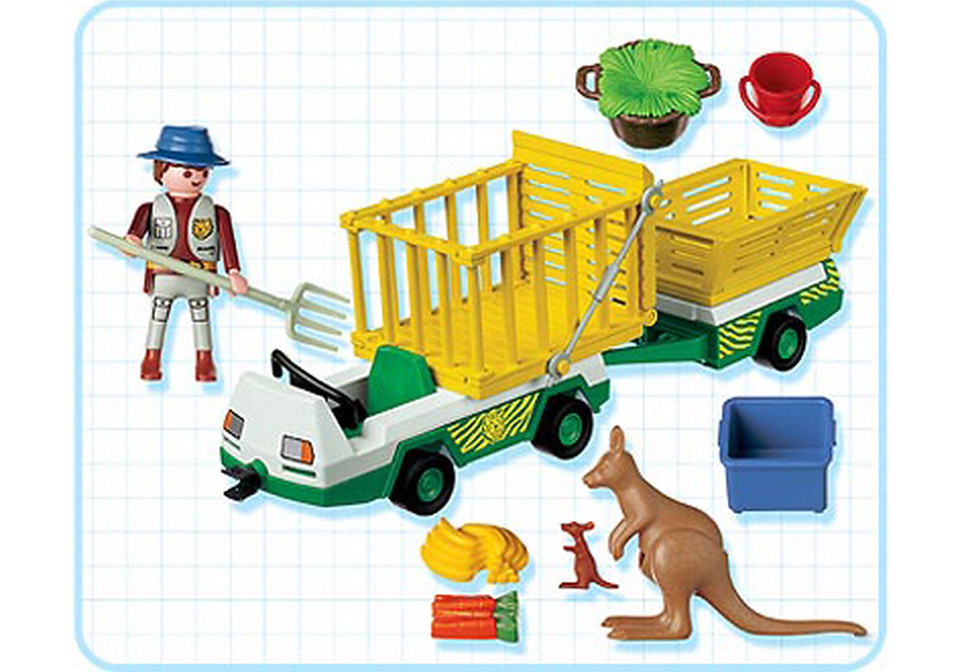 3242-C Gardien de zoo/vehicule d'entretien zoom image2